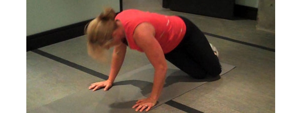 Clapping Quad Hop Bodyweight Exercise