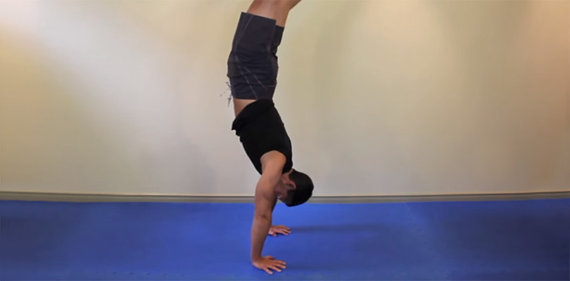 Advanced Bodyweight Exercise — Handstand Push Up From Crow post image