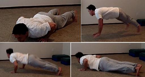 3 Crazy Pushups 3