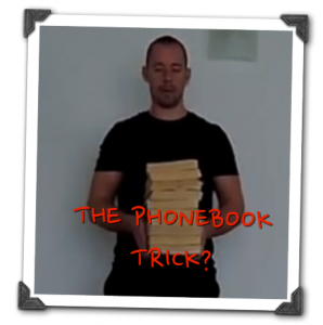The Phonebook Trick